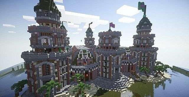 Pigron Castle | Faction Base | Minecraft Building Inc