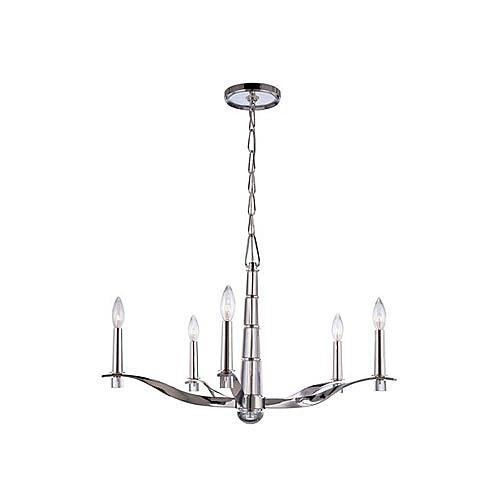 Click Image Above To Purchase: Hudson Valley Lighting Sterling 5-light Chandelier