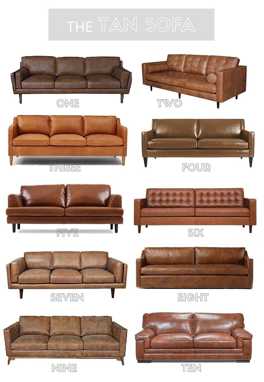 Tan Leather Sofa Round Up Leather Sofa Living Room Leather Couches Living Room Living Room Sofa