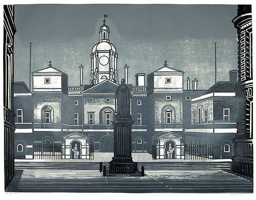 Edward Bawden - Horseguards by St. Jude's, via Flickr