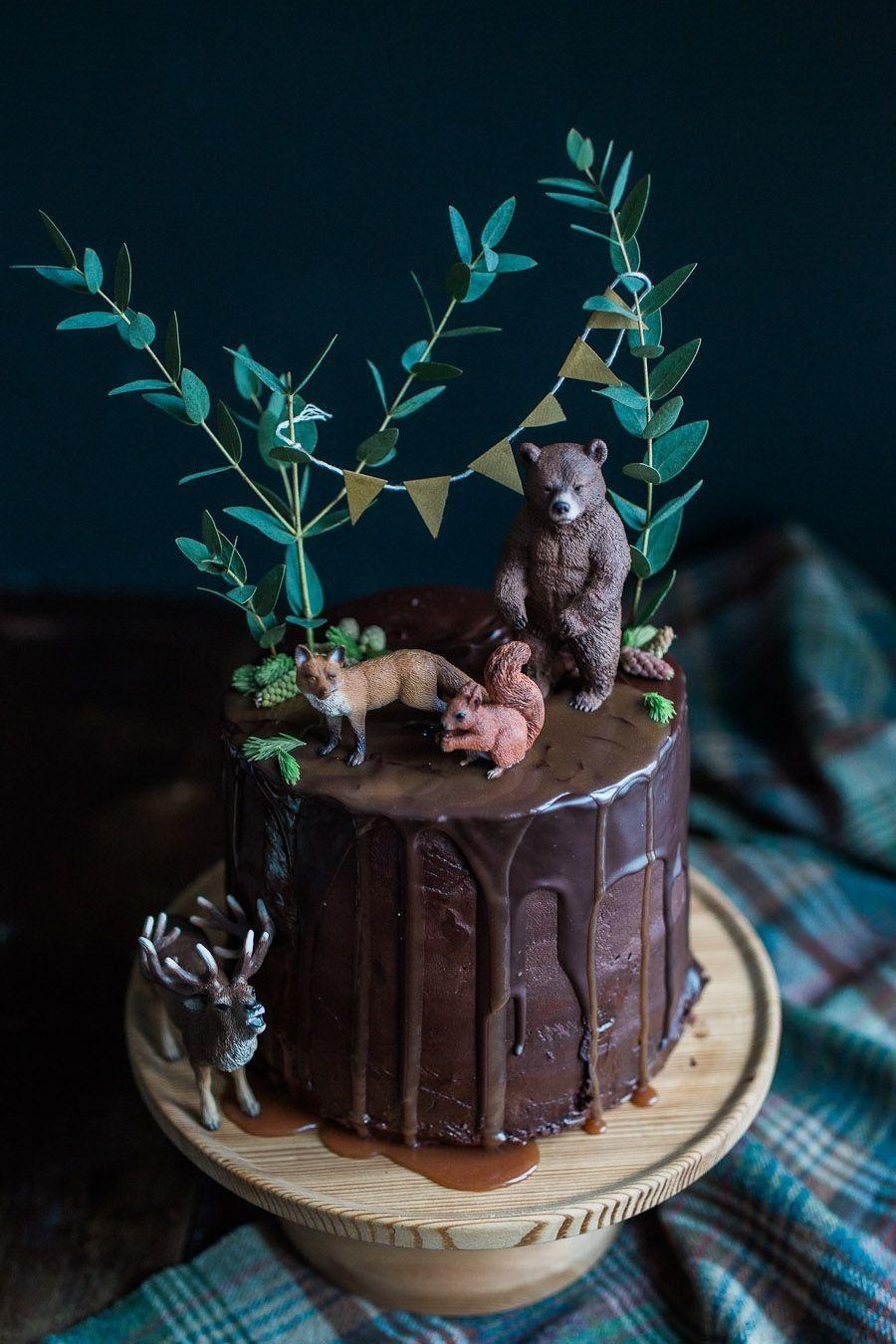 Forest Chocolate Cake 17th Birthday