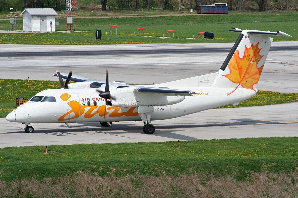 Air Canada Express Fleet (Jazz) Bombardier Dash 8100