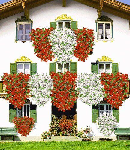 baldur garten tiroler h nge geranien kollektion 18 pflanzen pelargonium peltatum bayerische. Black Bedroom Furniture Sets. Home Design Ideas