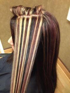 Blonde Black Red Brown Lowlites Highlites Blonde Hair Color