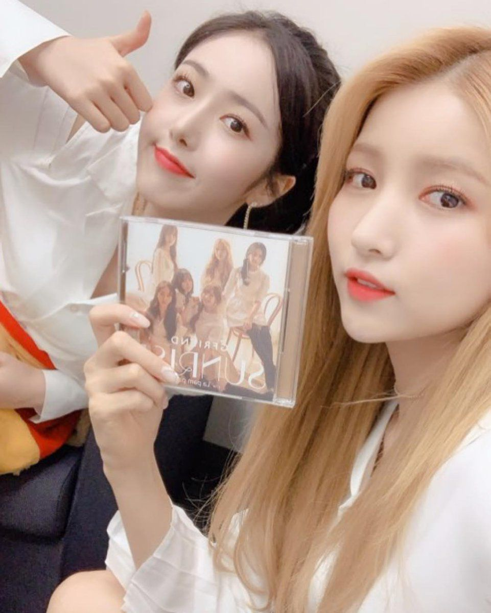 190213 Sowon And Sinb Promoting The Sunrise Japanese Launch