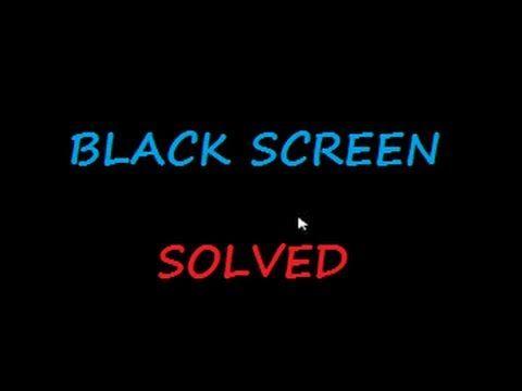 Black Screen With Cursor In Windows 8 1 Fix Pc Errors Black Screen Windows Windows 8