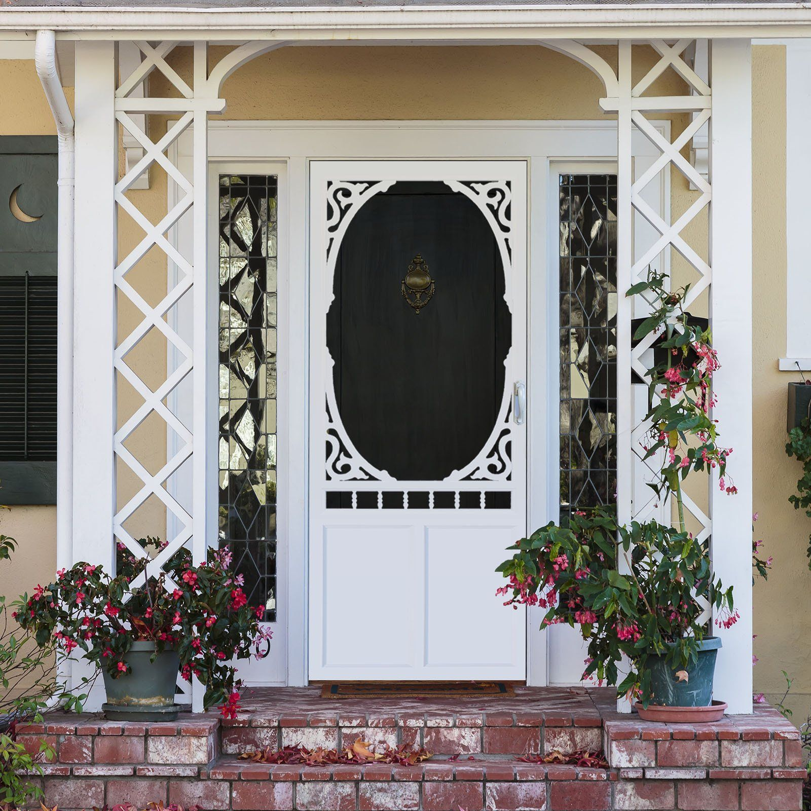 Screen Door Vinyl Brookside Vinyl Screen Doors Front Door With Screen Vintage Screen Doors