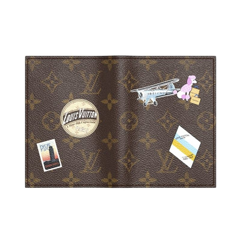 c4d3f94b5835 PASSPORT COVER MY LV WORLD TOUR Monogram - PERSONALIZATION