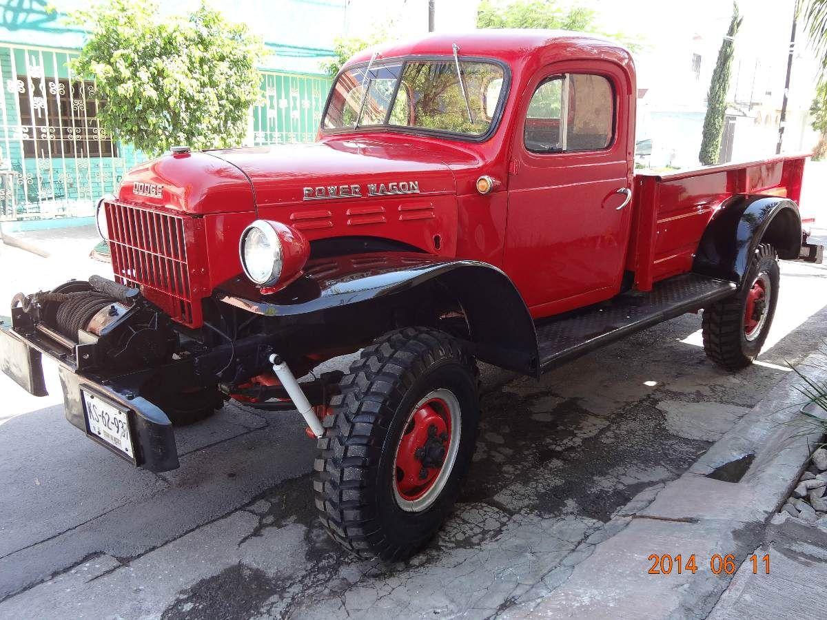 2 Dodge Wagon 1946 Con Winch Año 50 Km En Mercado Libre
