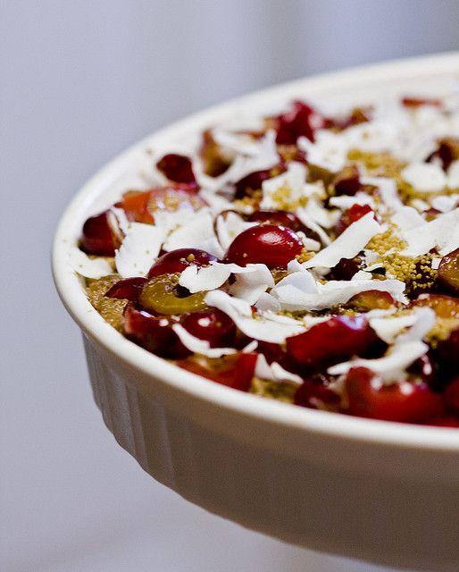Raw Vegan Chocolate Cherrystrawberry Tart