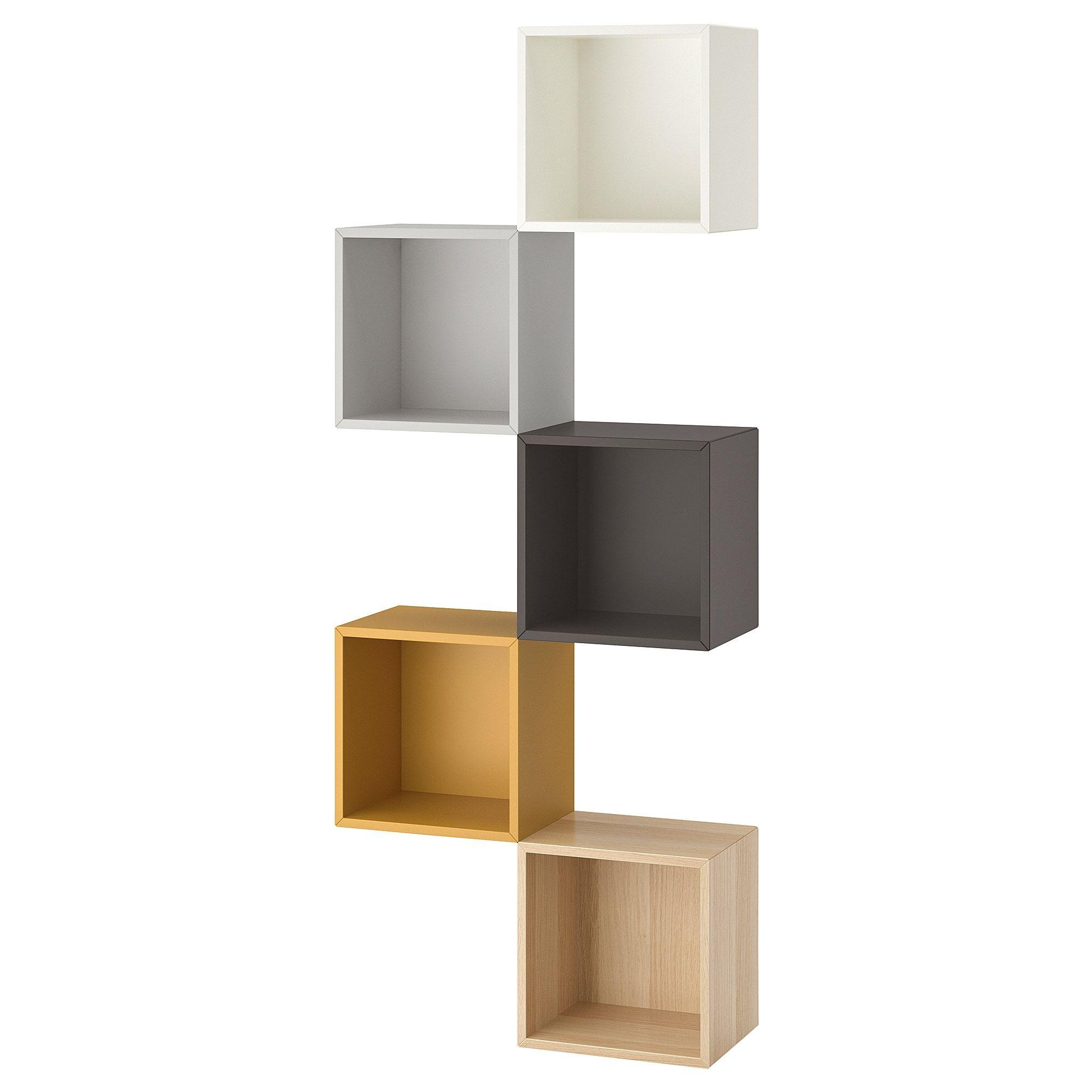 Eket Wall Mounted Storage Combination Multicolor 1 27 1 2x9 7