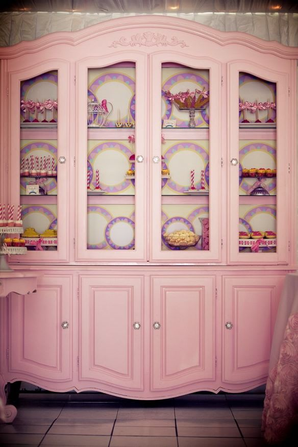 Beauty And The Beast Cupboard With Candy Bar So Lovely