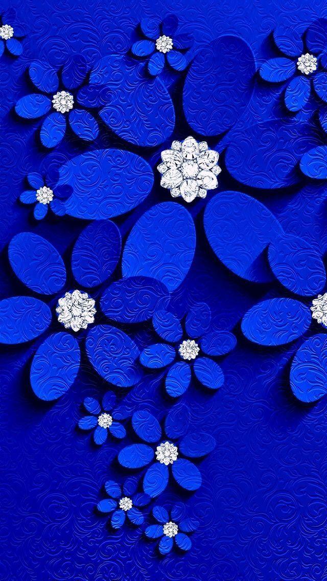 Wallpaper iPhone Royal blue wallpaper, Blue wallpaper iphone
