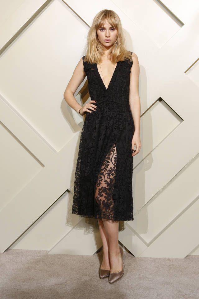 The 100 best little black dresses of 2014: Suki Waterhouse