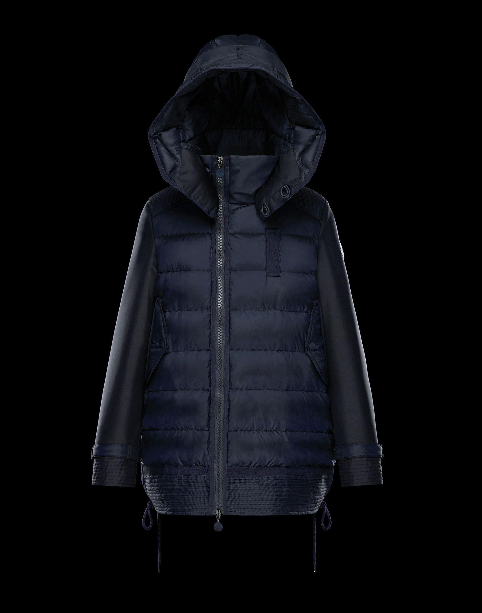 a8bd8d8db Moncler HARRIET in Long outerwear for women