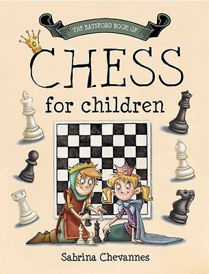The #batsford book of chess for #children, #sabrina chevannes book - chess score sheet