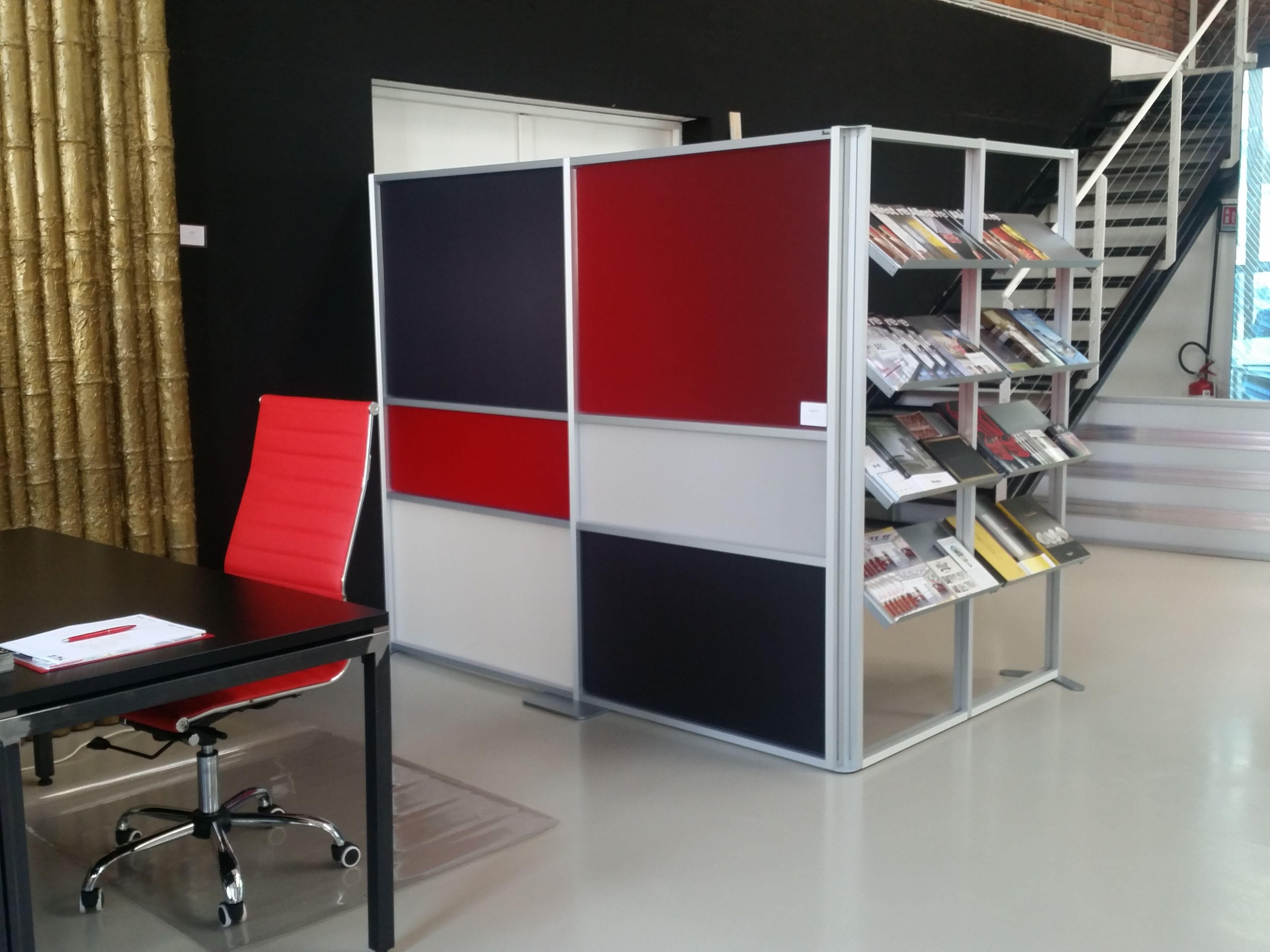 Piante Ufficio Open Space : Tetrix pannelli divisori per uffici e open space. pareti per open
