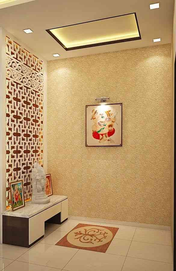 Pooja room our home pinterest room puja room and for Door design with highlighter