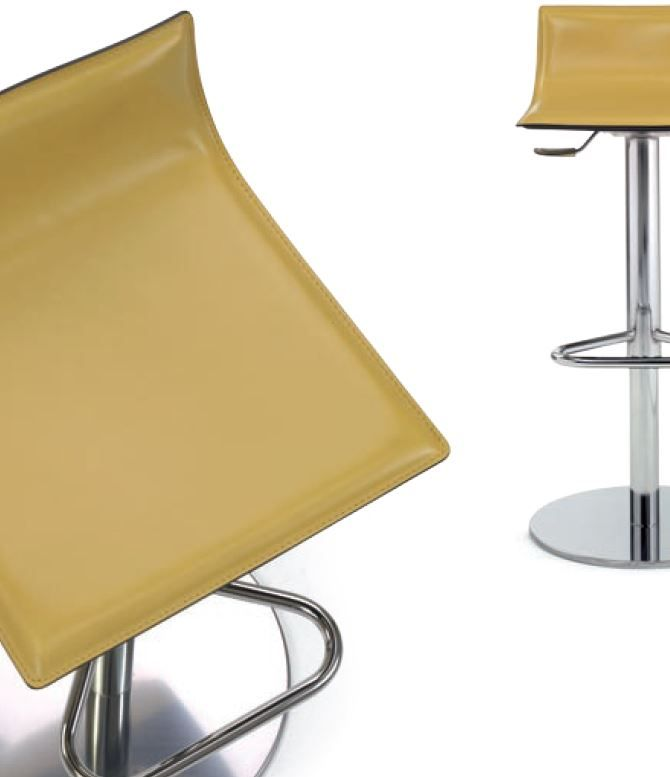 Nice This Modern Bar Stool Is Sleek With A Minimalistic Design And Lots Of  Appeal, Especially The Combination Of The Seat And The Pedestal Base. The  Basu2026