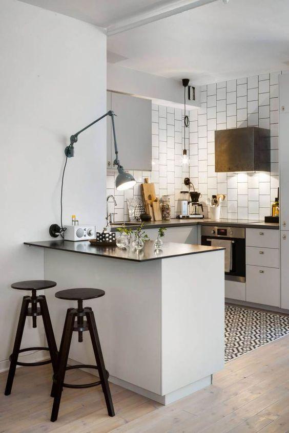 Beroemd 10x kleine keuken inrichten + tips | keuken - Keuken inrichten &ZF86