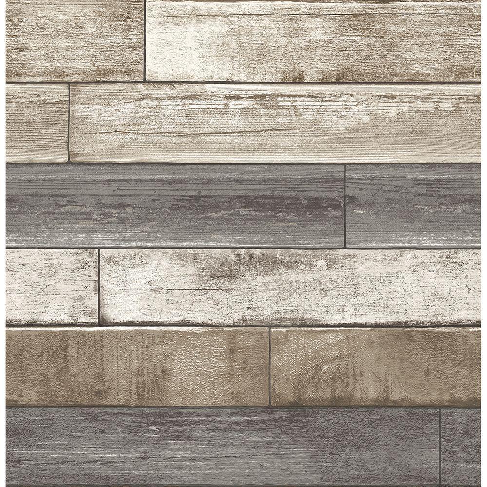 Roommates Weathered Wood Plank Peel Stick Wallpaper Black Wood Plank Wallpaper Peel And Stick Wallpaper Weathered Wood