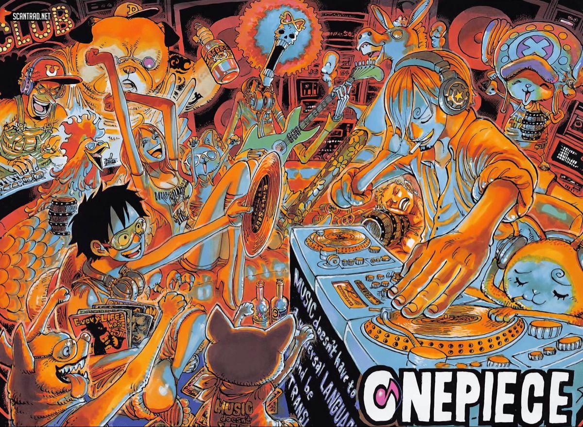 One Piece scan 981 trong 2020