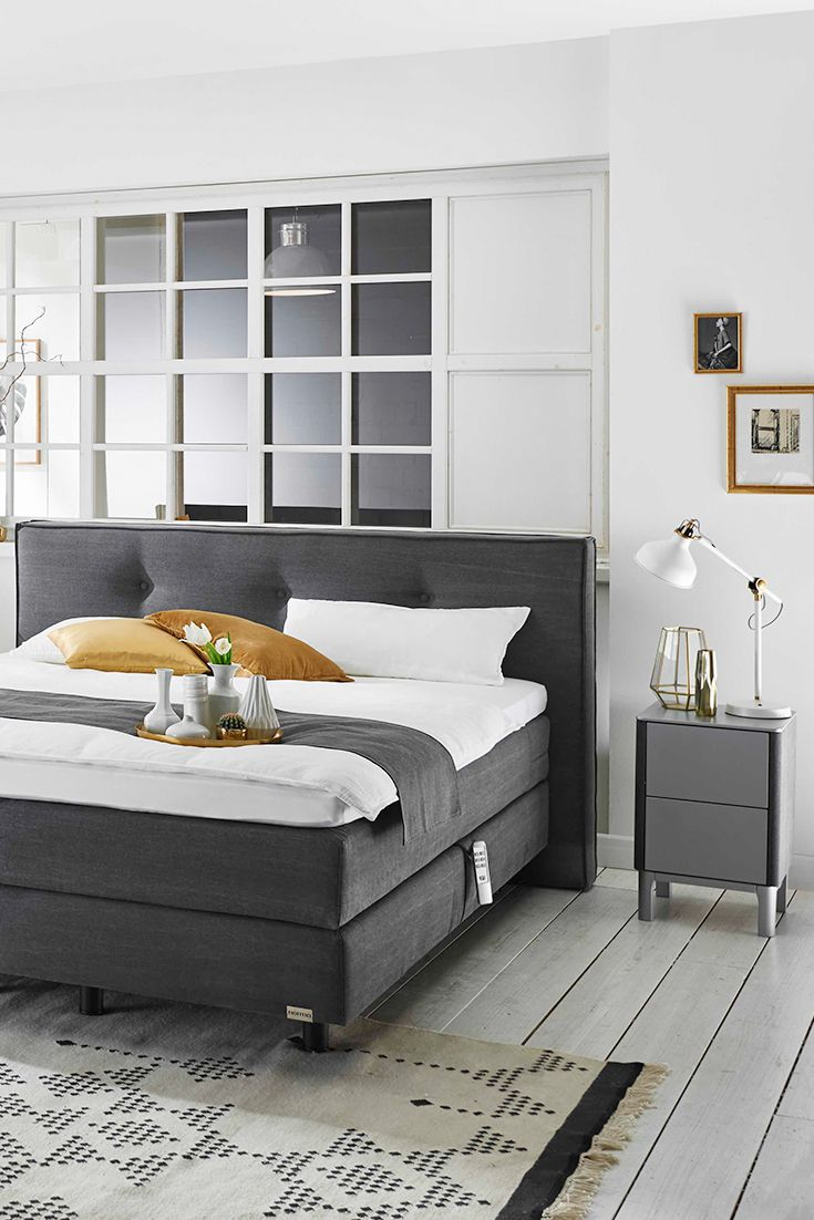 Boxspring Timeless van Norma #boxspring #bed | slaapkamer ideeën ...