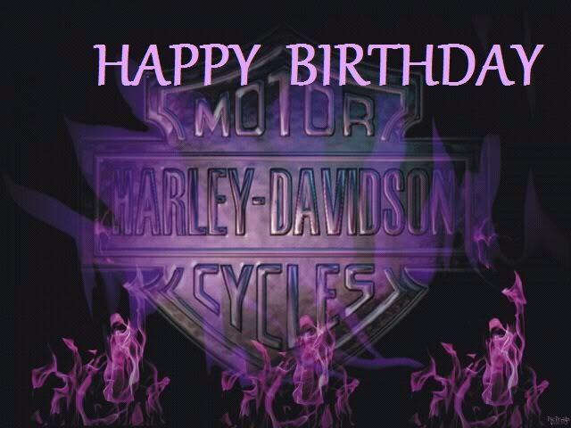 happy BIRTHDAYharley davidson theme harley davidson – Harley Davidson Birthday Cards