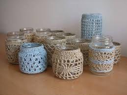 crochet candle - Buscar con Google