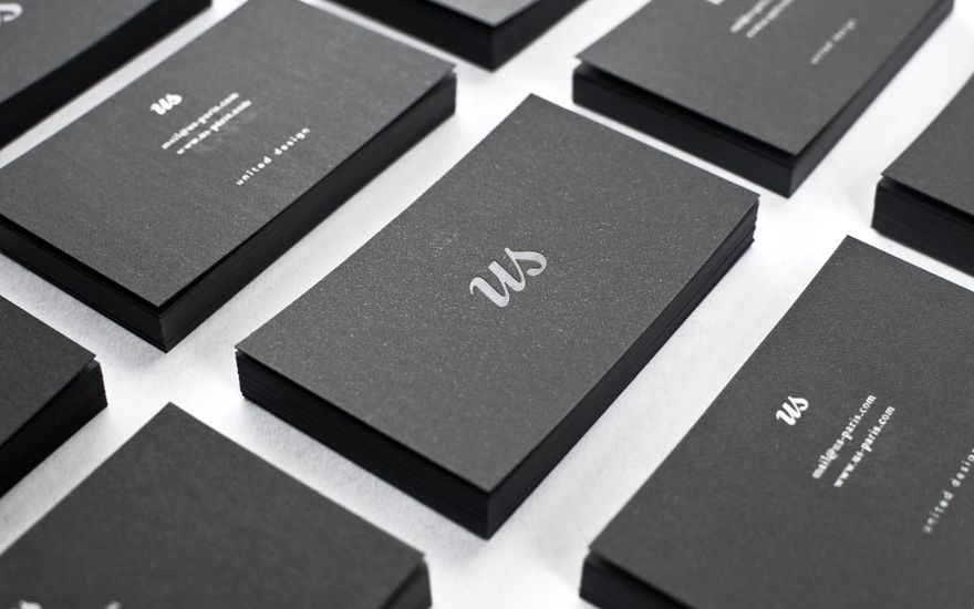 black business cards inspiration 22 sweet examples