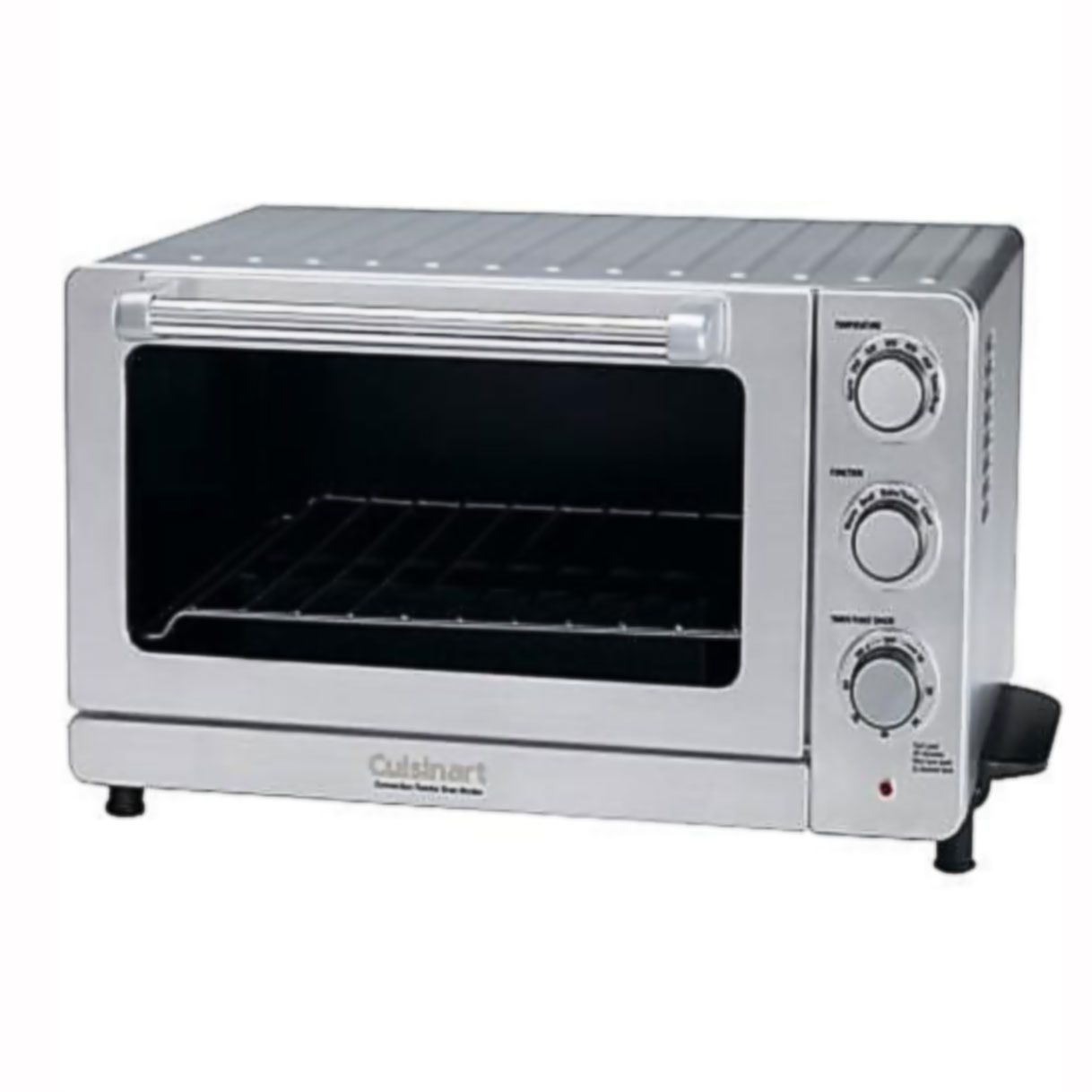 Toaster Oven Broiler With Convection 6 Cu Foot Fits A 12 In Pizza 1500 Watts And Up To 500 176 Bake Toaster Oven Cuisinart Toaster Oven Cuisinart Toaster