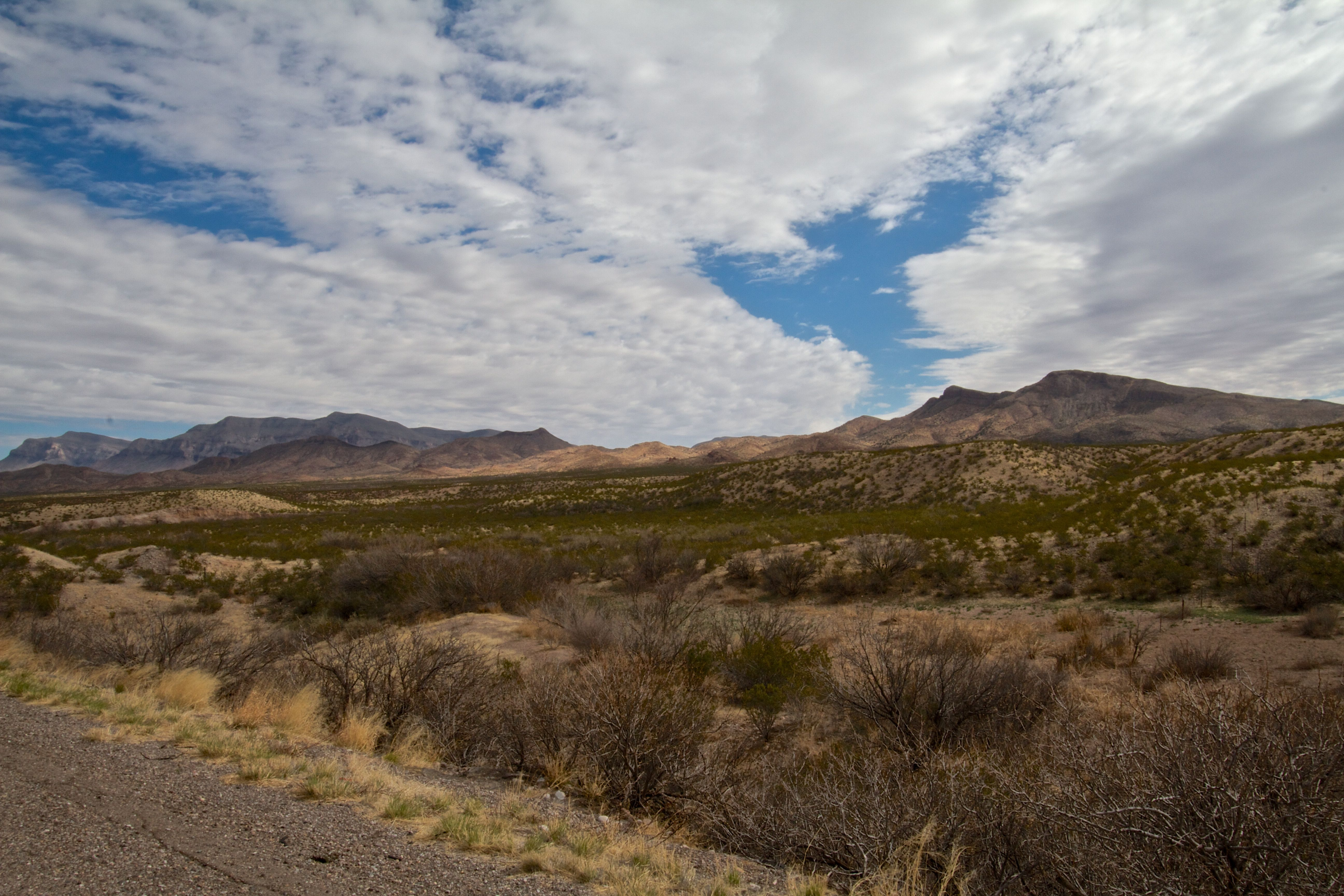 Desert and sky, central NM Natural landmarks, New mexico
