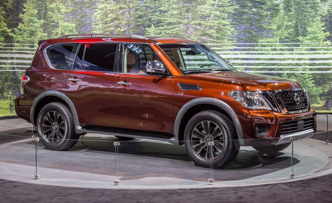 2017 Nissan Armada Finally A Redesign Nissan Armada Nissan Nissan Pathfinder