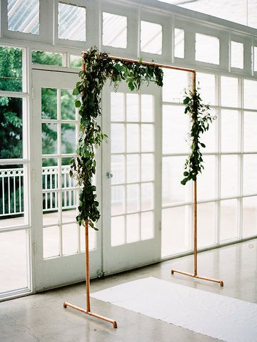 Paint Gold Bed Frame Have This Around You Don T Need Wedding Archway Diydiy Arch