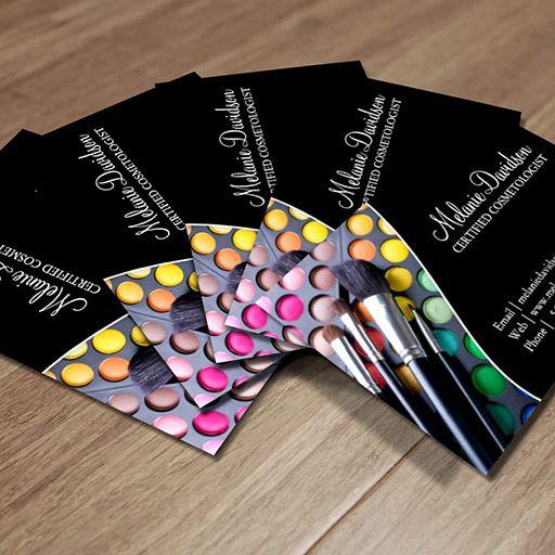 Makeup artist business card template makeup artist business cards makeup artist business card template wajeb Gallery