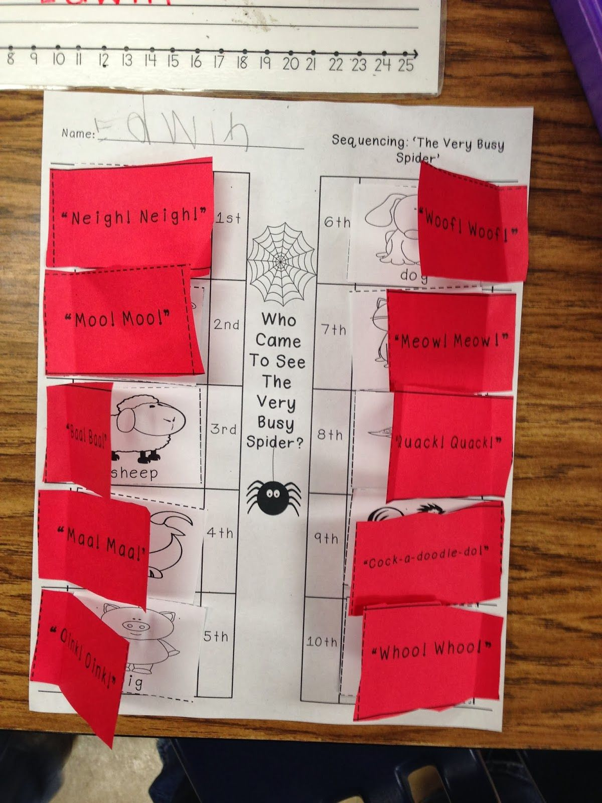 Spider Week!! Preschool lesson plans, The very busy