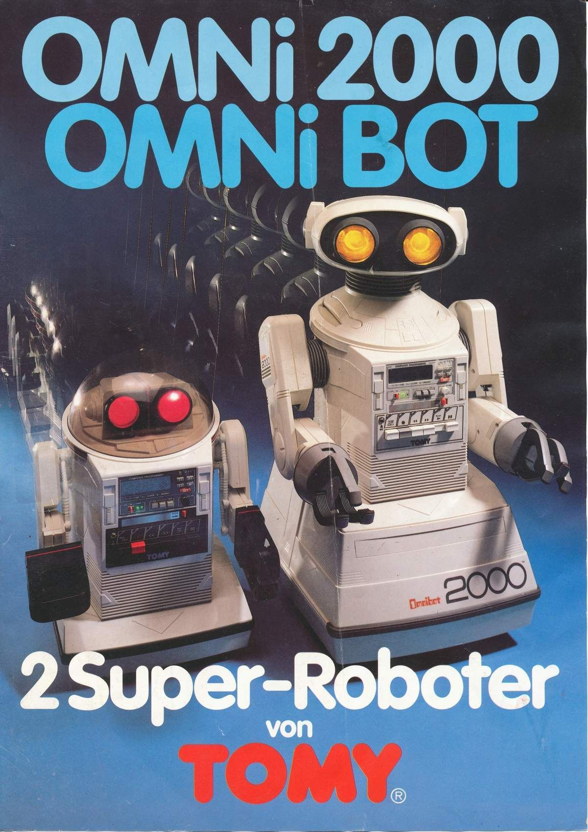 Omnibot 2000 Amp Omnibot Mkii Robots Toys Ad Aminbots In