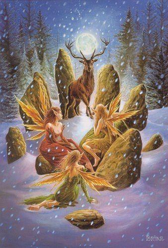 Image result for solsticio de invierno con las hadas
