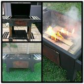 """Photo of Find out more details about the """"concrete fire pit"""". Take a look at …"""