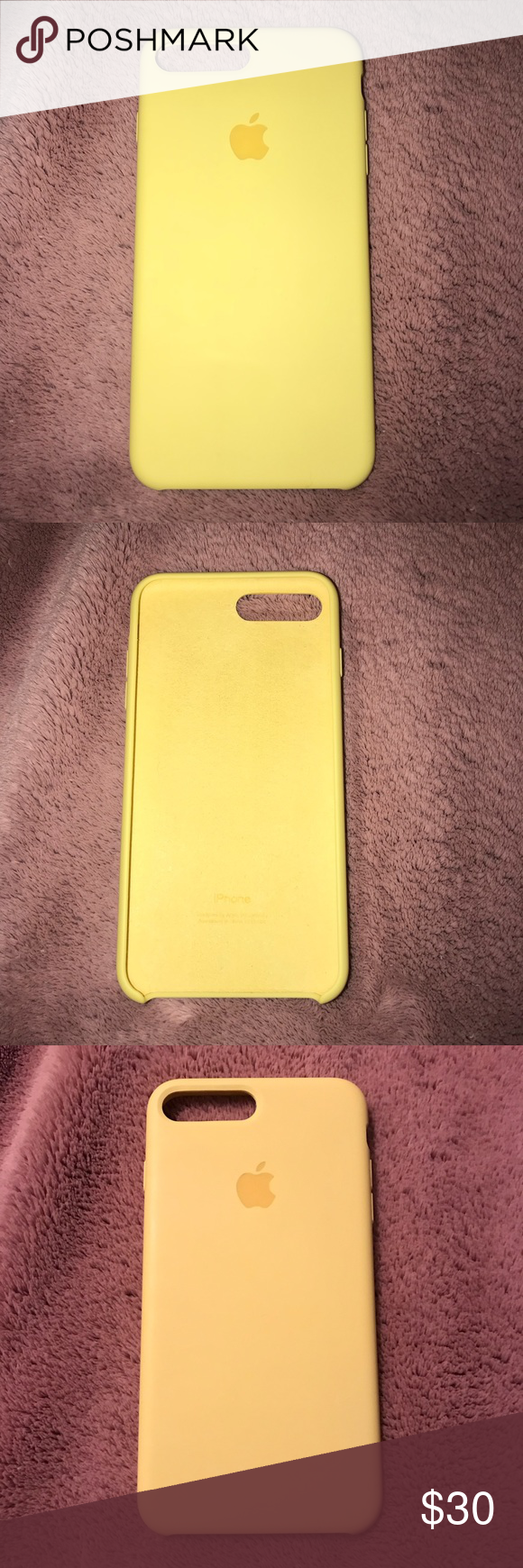 apple iphone 8 plus case yellow