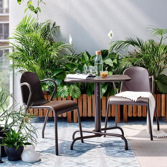 Die Schonsten Balkonmobel In 2019 Ikea Muebles Terrazas