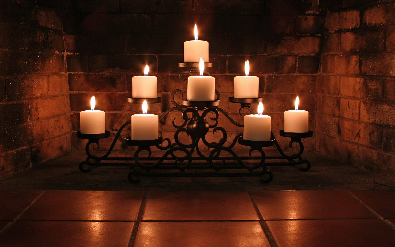 Candles For Fireplace Insert Dark Romantic Candlelight Fireplace Home Décor Fireplace