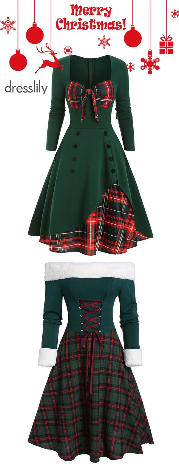 Christmas Dress | Novelty Ladies Christmas Outfits #christmaspartyoutfit