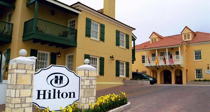 Hilton St Augustine Historic Bayfront Florida Hotel Exterior View Hotel Exterior Florida Hotels St Augustine Florida Beach