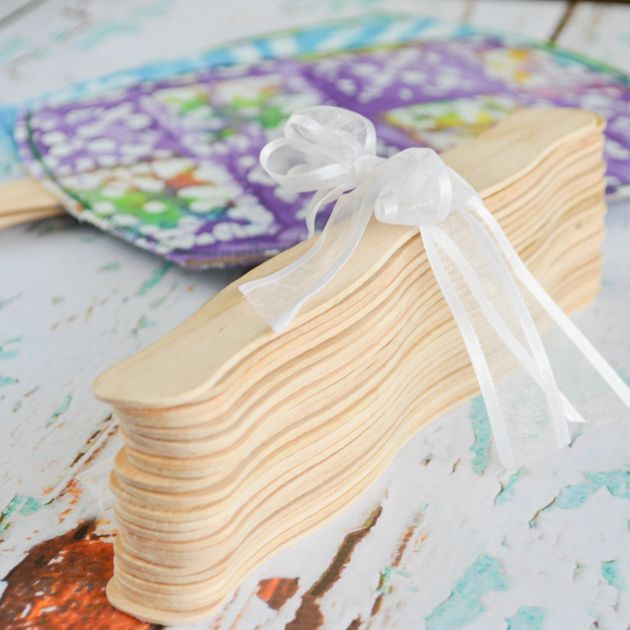 Discover How To Make Your Own Fabric Covered Hand Fans Great For Diy Weddings Receptions Family Reunionore