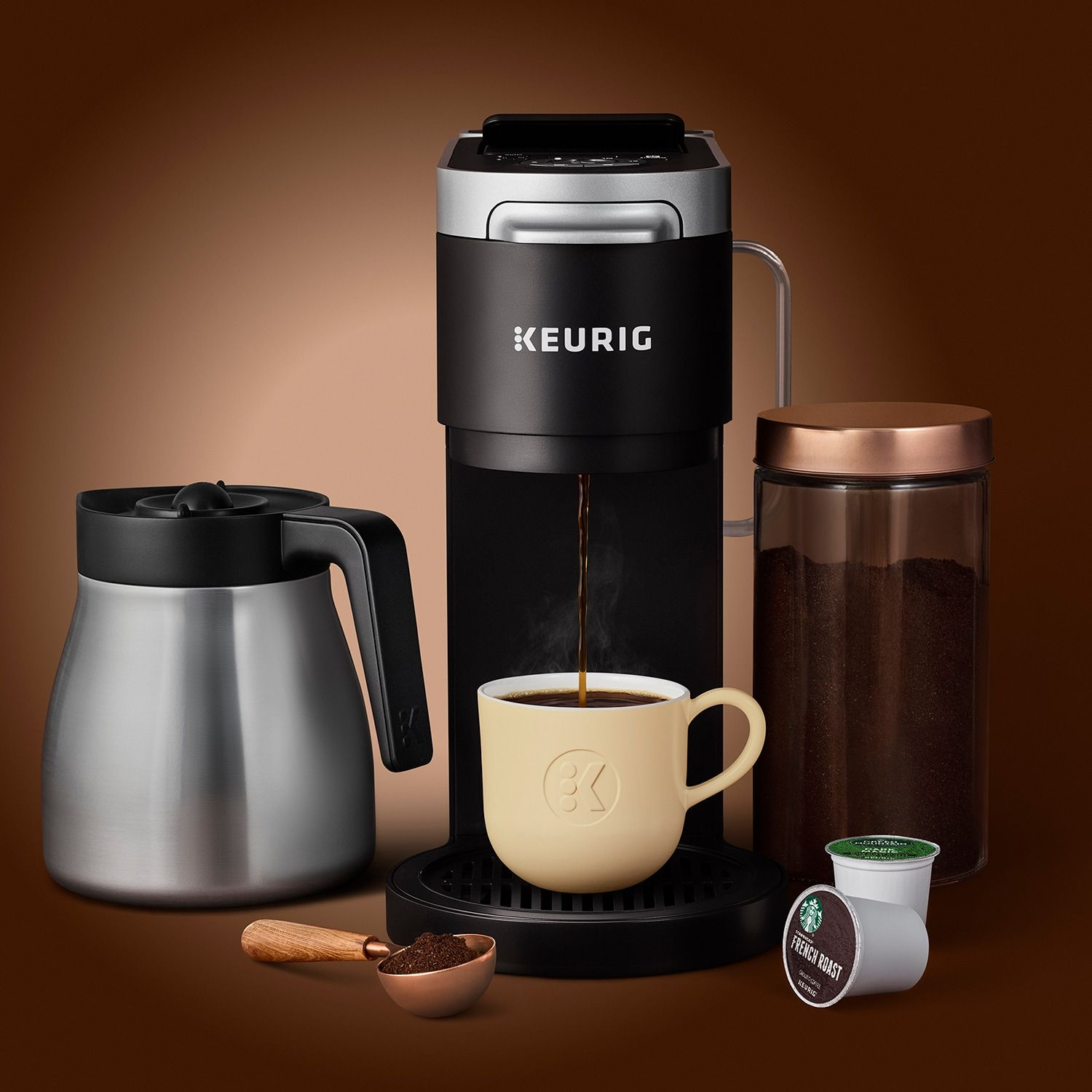 Keurig? KDuo Plus? SingleServe & Carafe Coffee Maker