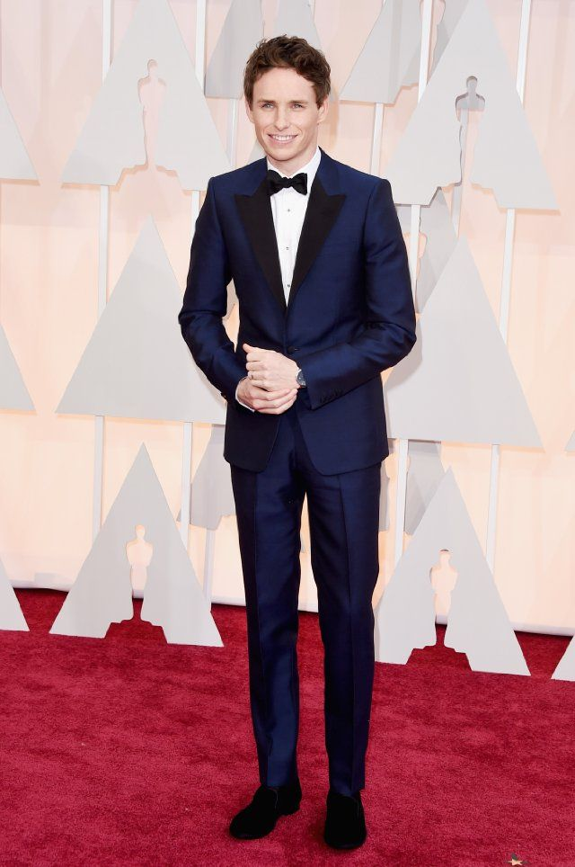 Eddie Redmayne at event of The 87th Annual Academy Awards