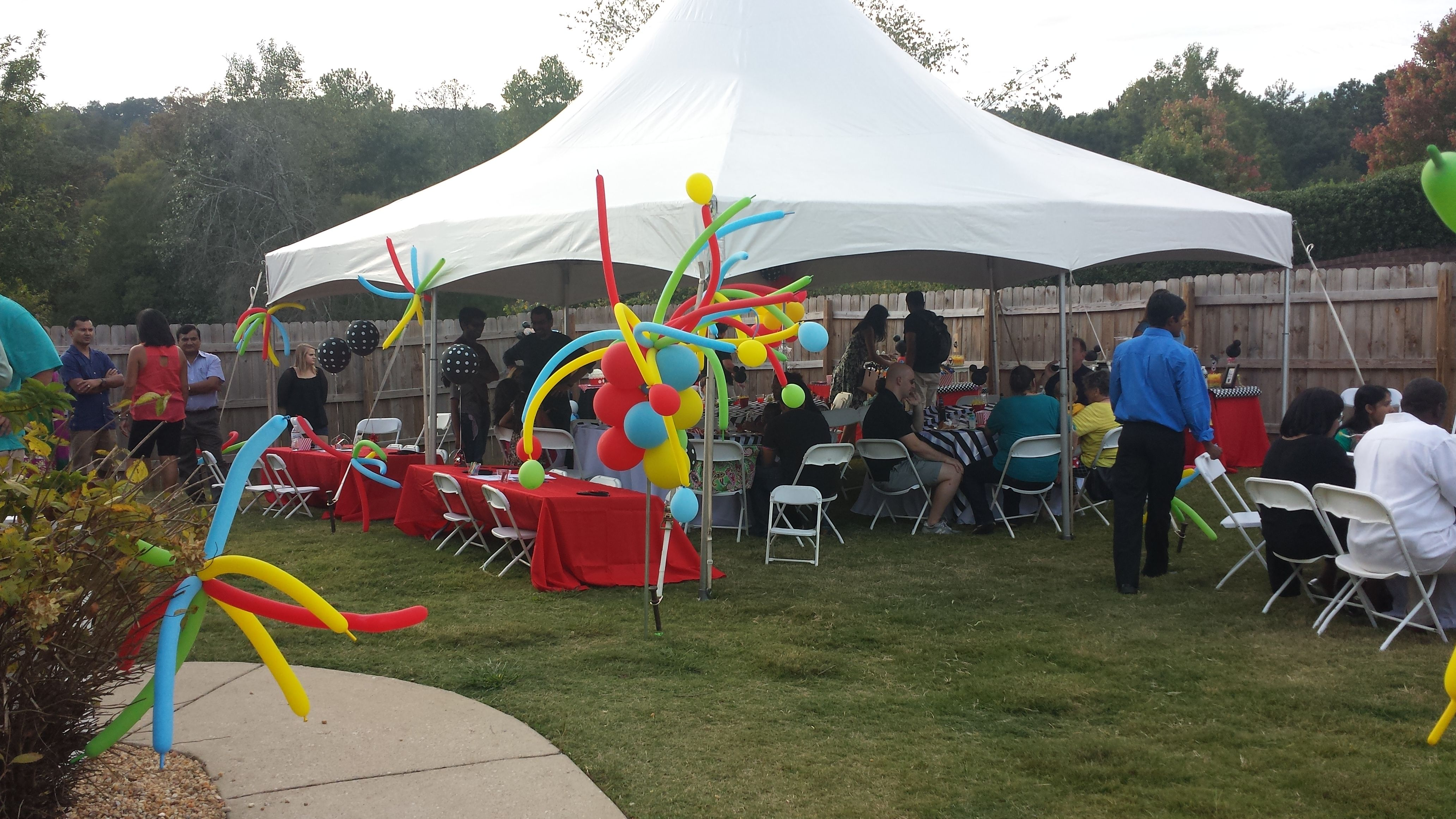 Theme Mickey Mouse First Birthday Party Venue Private