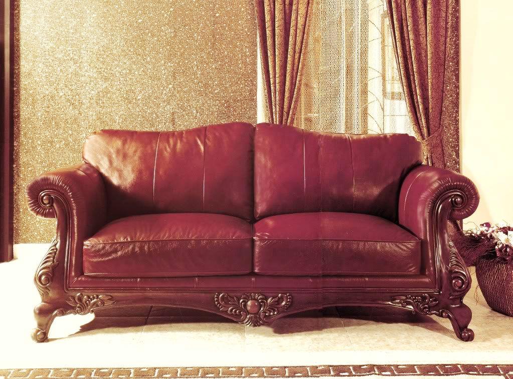 Charlie 100 Genuine Top Grain Burgundy Leather Formal Sofa Set Leather Living Room Set Leather Sofa Living Room Genuine Leather Couches