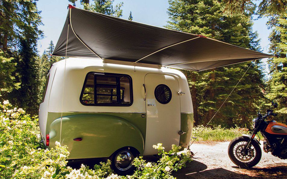 Happier Camper Mini Trailer  Cool Camping Gear  Pinterest Endearing Small Campers With Bathrooms For Sale Inspiration